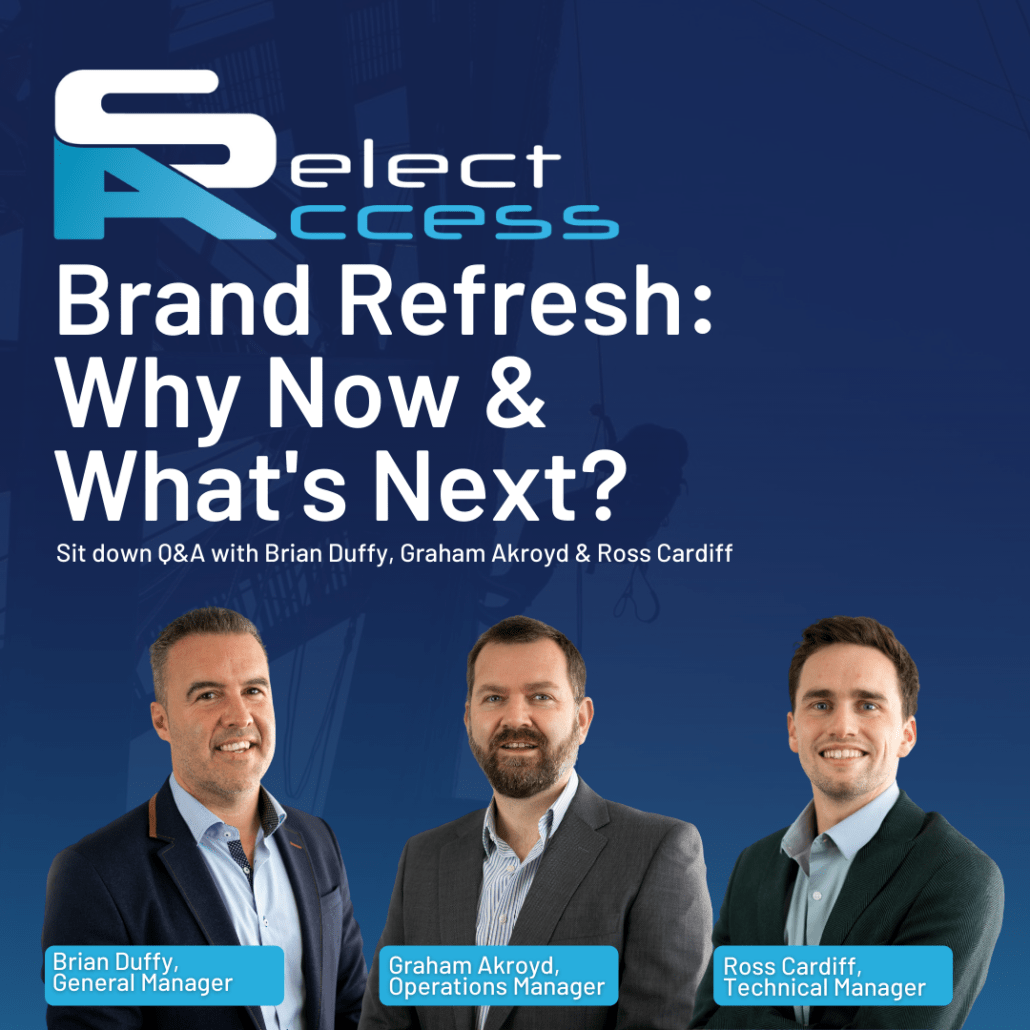 Select Access Brand Refresh: Why Now & What's Next?
